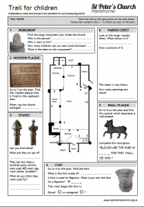 information and worksheets for children st peter 39 s church. Black Bedroom Furniture Sets. Home Design Ideas