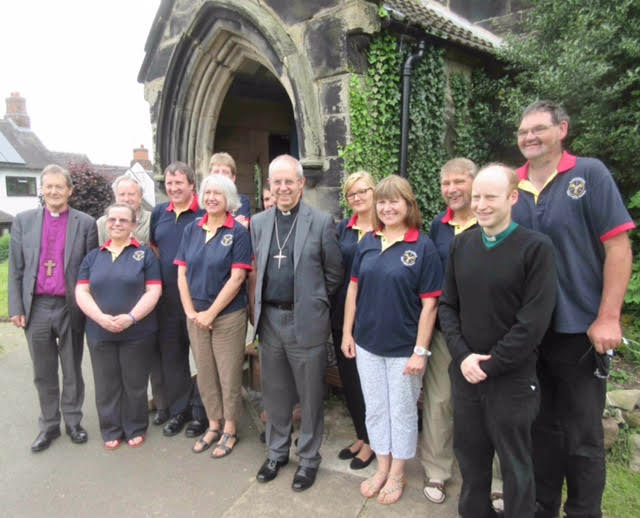 Archbishop and ringers