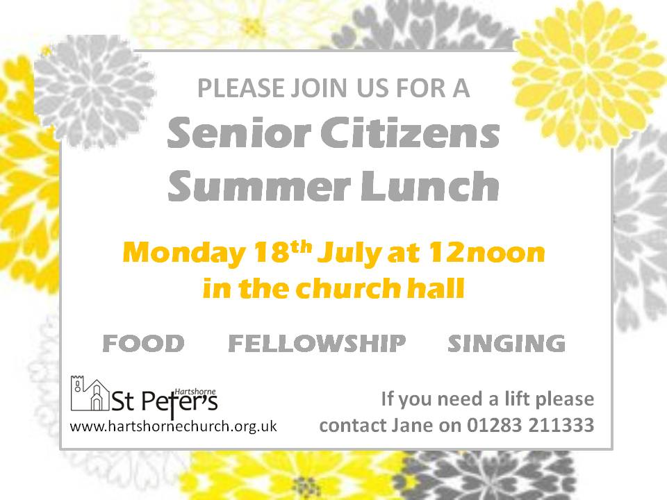 Invitation lunch 18-07-16
